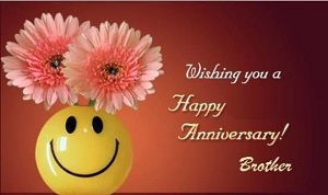 Wedding anniversary wishes for brother and sister in law quotes