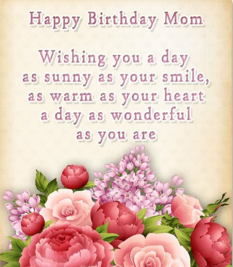 Happy Birthday Poems for Mom - Quotes and Messages