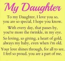 I Love You Quotes For Daughter Quotes And Messages