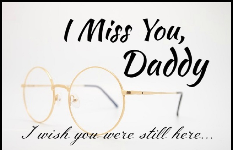 miss u messages for dad